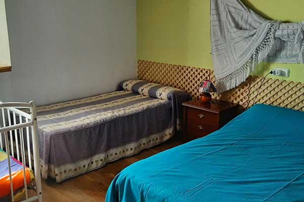 Habitación IRATI - Cama matrimonio + supletoria