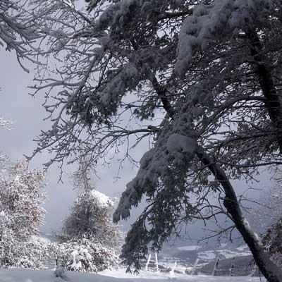 Nieve en Lintzoain